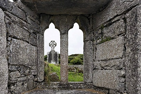 Historical site seven churches , Inis Mor, Aran Islands, Ireland