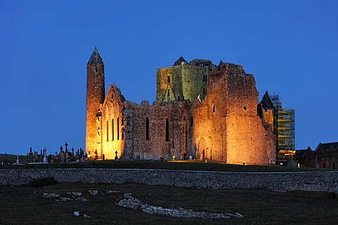 Rock of Cashel or Cashel of the Kings the seat of the Kings of Munster, Cashel, Tipperary, Ireland