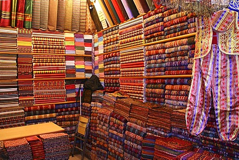Turkish carpets, examples, Kelim, Istanbul, Turkey, Europe - 832-285228