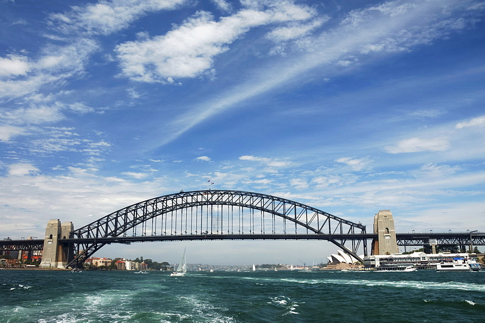 Sydney Harbour Bay, Sydney Harbour Bridge, New South Wales, Australia