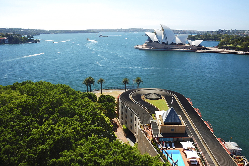 Sydney Harbour Bay and Sydney Opera House, New South Wales Sydney
