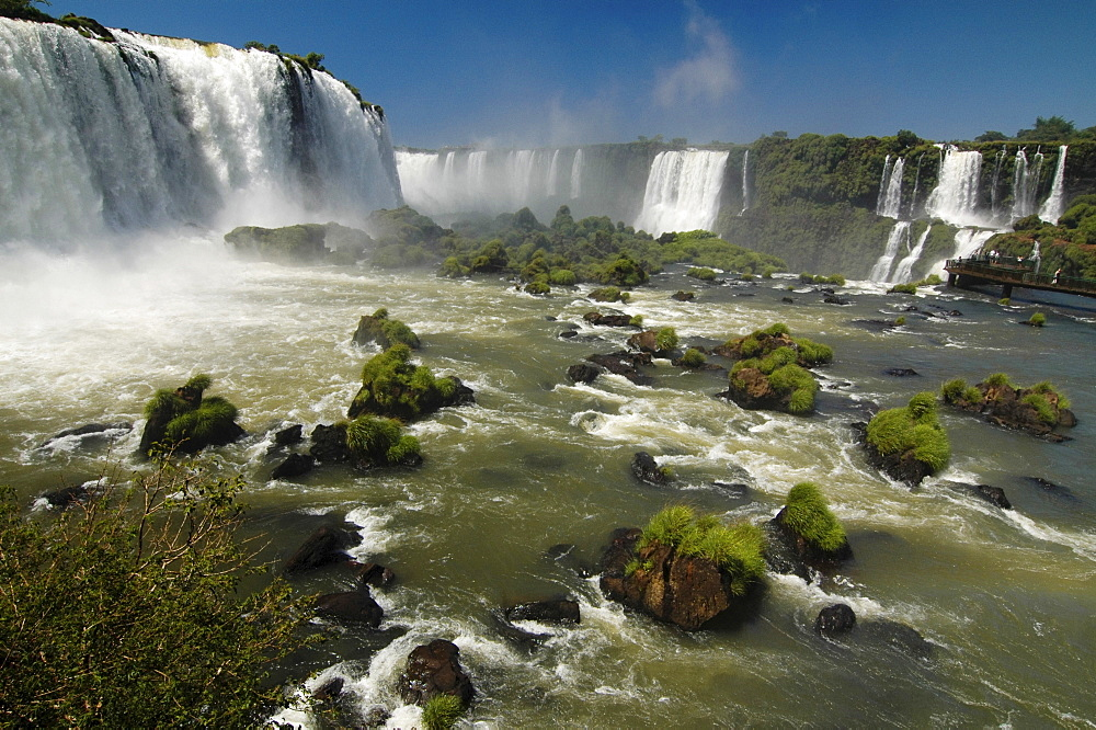 Waterfalls, Iguacu, Brazil, South America