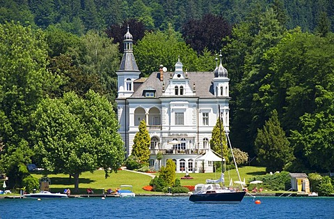 Classical villa in Poertschach on Lake Woerthersee, Carinthia, Austria, Europe