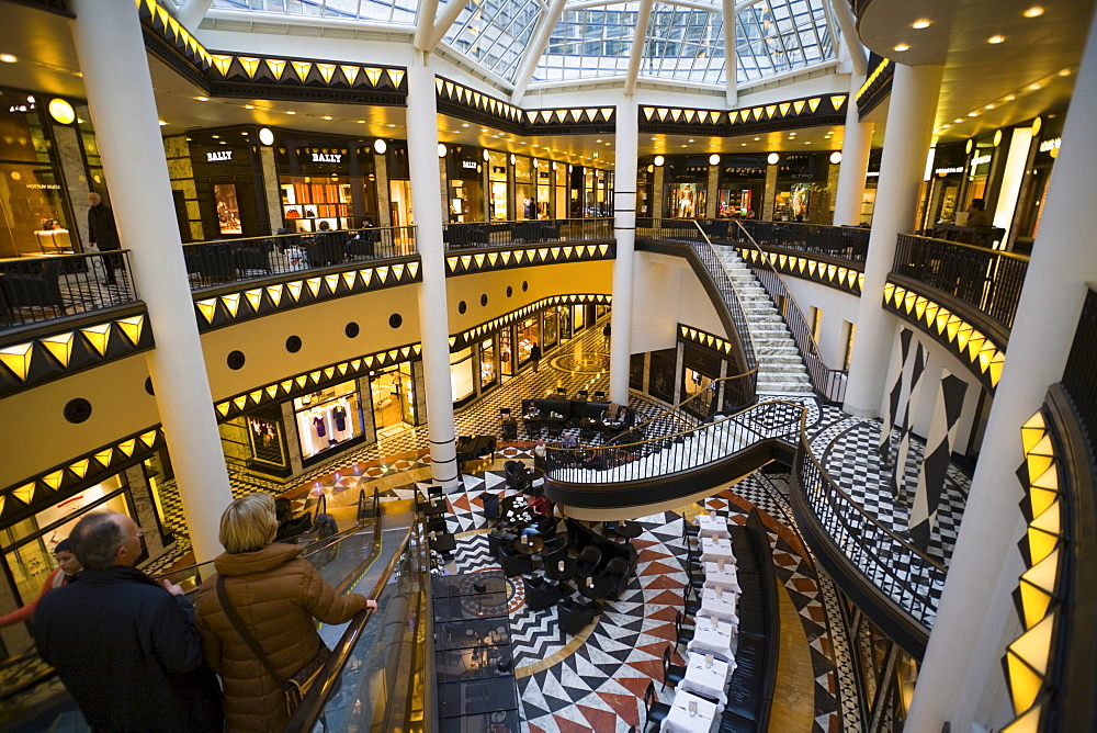 Noble Shopping-Center Quartier 206, Friedrichstrasse, Mitte, Berlin, Germany, Europe