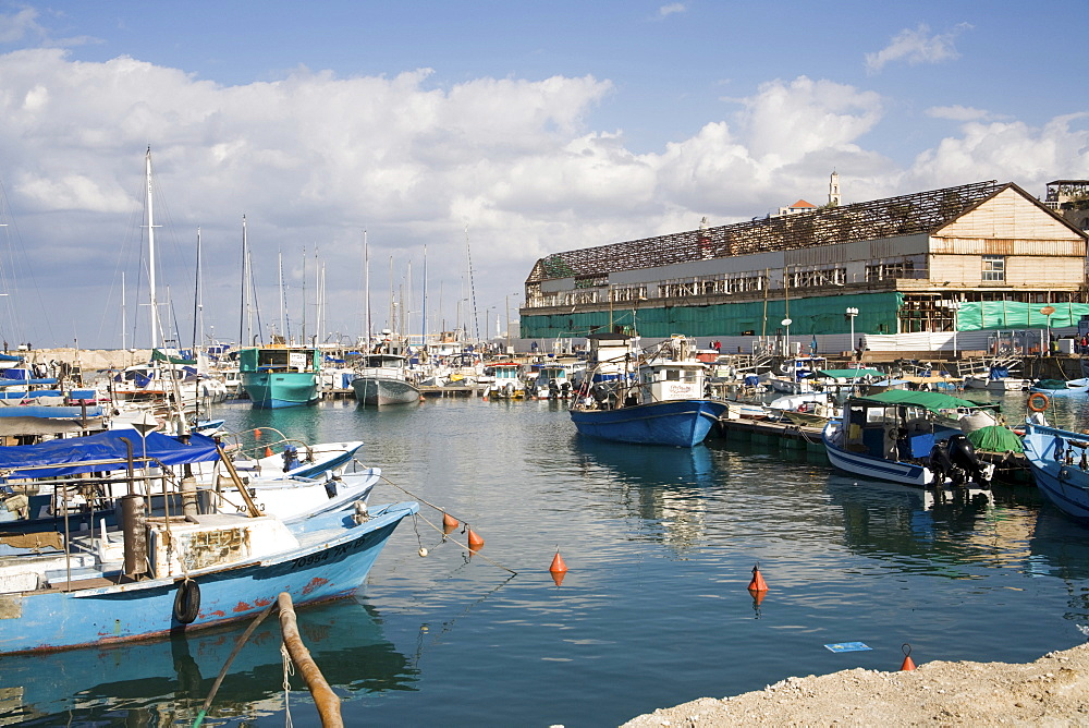 Old harbour of Jaffa, Tel Aviv, Israel, Middle East