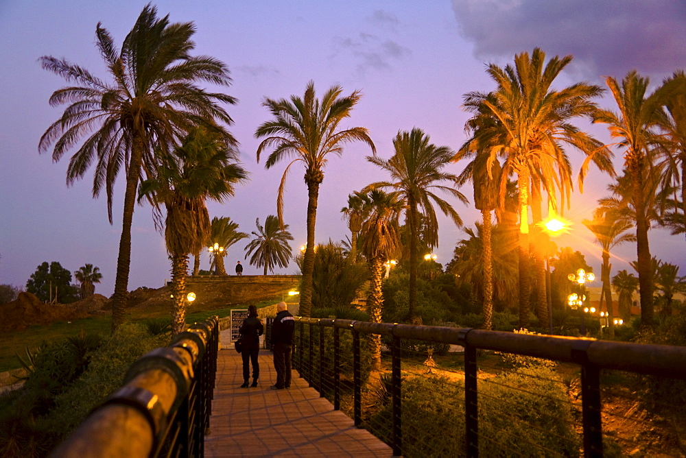 Wishing Bridge, Jaffa, Tel Aviv, Israel, Middle East