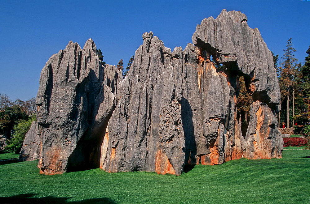 Shilin, little stone forest, Kunming, Yunnan, China, Asia