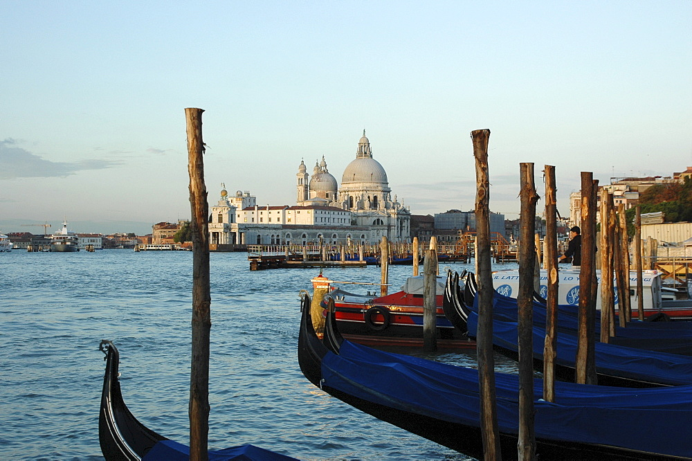 Gondolas in Venice, Italy, Europe