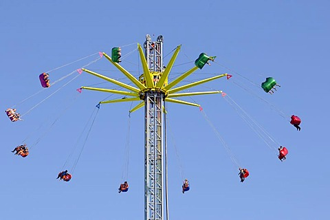 Carousel, Hamburg Dom, large fair in Hamburg, Hanseatic City of Hamburg, Germany, Europe