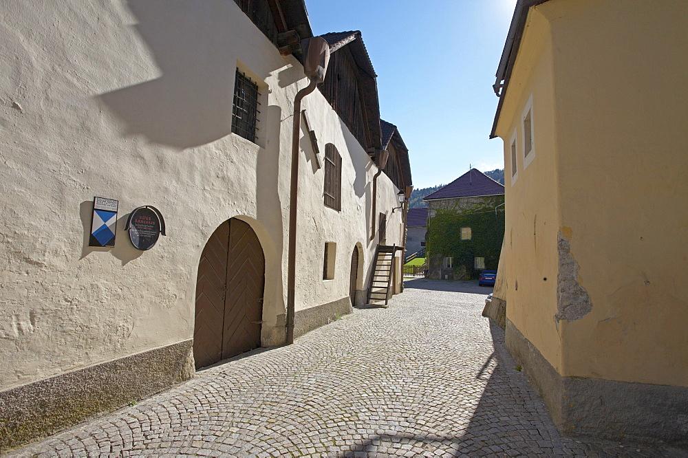 Old brewery, Gmuend, Carinthia, Austria