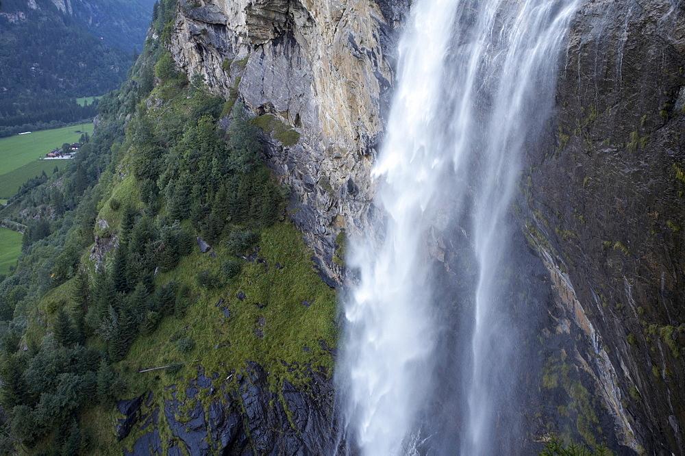 Fallbach waterfall, Maltatal, Hohe Tauern, Carinthia, Austria