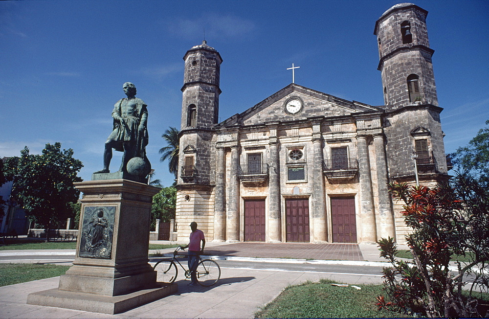 Columbus memorial and church in Cardenas, Cuba