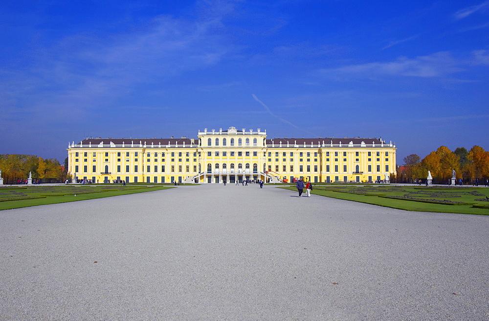 Schoenbrunn Palace, Vienna, Austria, Europe