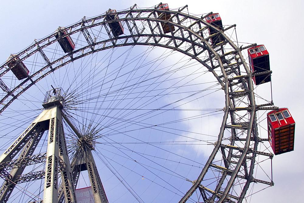 Prater Ferris Wheel, Vienna, Austria, Europe