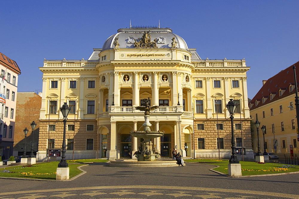Slovenske Narodni Divadlo, Bratislava Slovak National Theatre, Bratislava, Slovakia, Europe