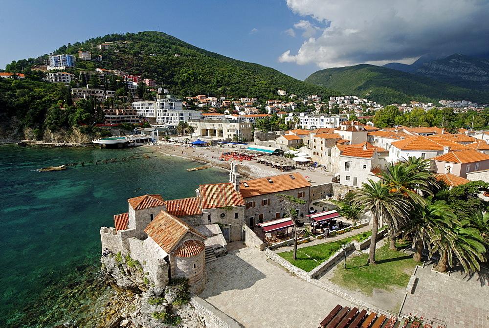 Historic town of Budva, Montenegro, Crna Gora, Balkans