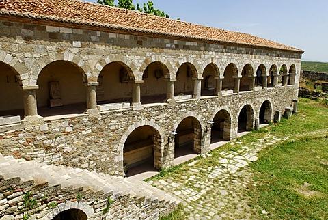 Byzantine Abbey of Pojan, Museum of Apollonia, Albania, Europe
