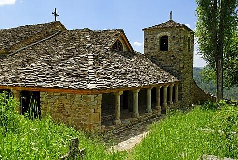 Mediaeval Krushove Church near Voskopoje, Albania, Europe