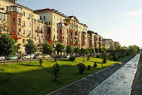Bajram Curri Boulevard, Tirana, Albania, the Balkans, Europe