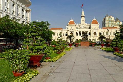 Historic City Hall in Saigon, Ho Chi Minh City, Vietnam, Asia