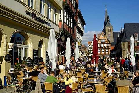 UNESCO World Heritage Site Quedlinburg, Saxony-Anhalt, Germany