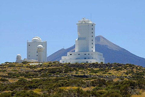 Observatory, Teide National Park, Tenerife, Canary Islands, Spain - 832-292481