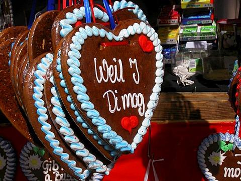 Heart of gingerbread