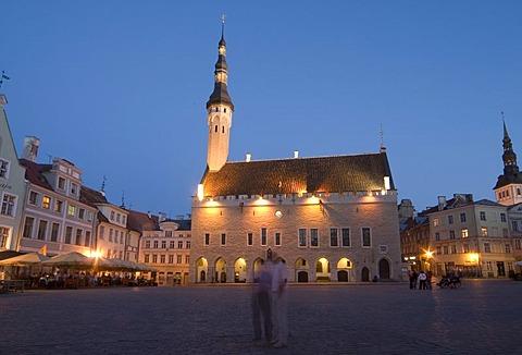 Raekojeplats, Townhall Square, Tallinn, Estonia - 832-293636