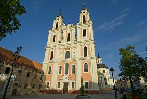 Cathrine church, Vilnius, Lithuania
