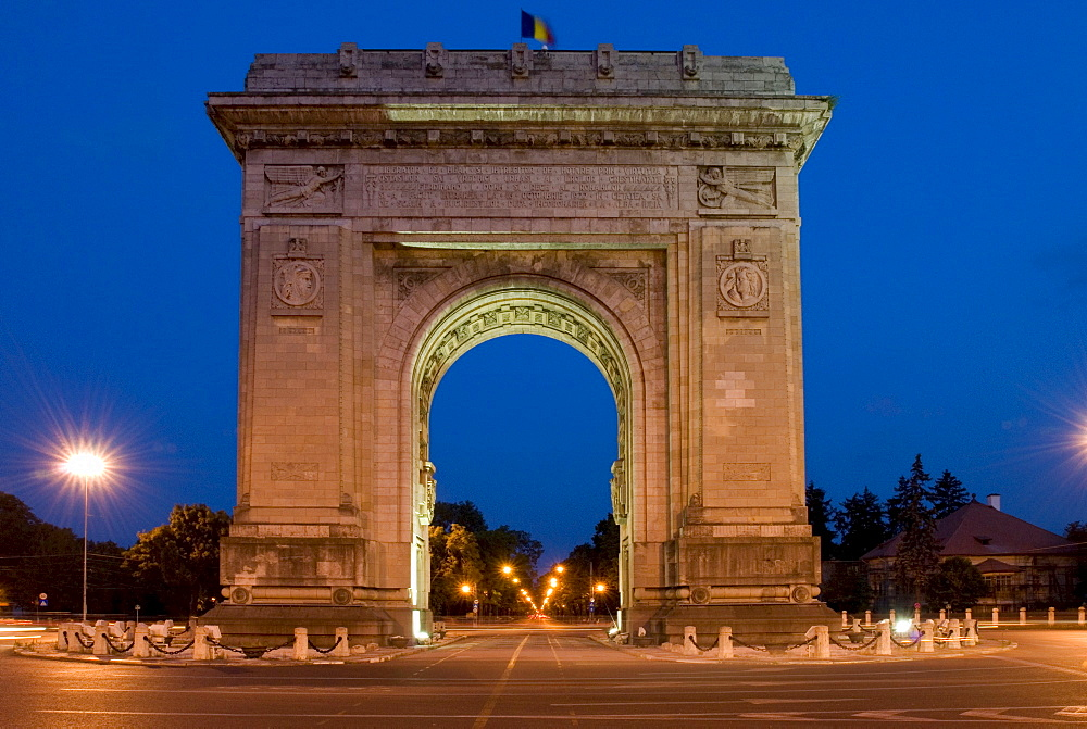 Arch de Triomphe, Bucharest, Romania