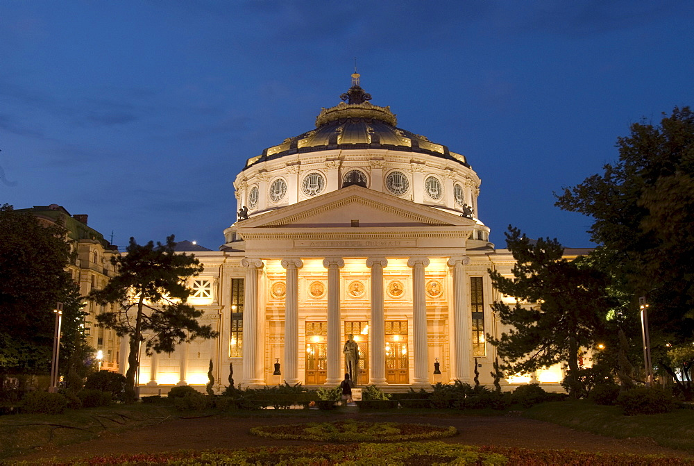 Antheneul Roman, concert hall, Bucharest, Romania