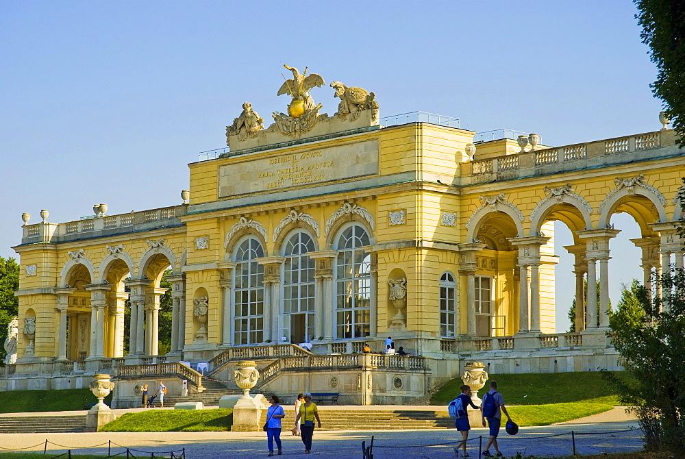Gloriette, Casstle Schoenbrunn, Vienna, Austria