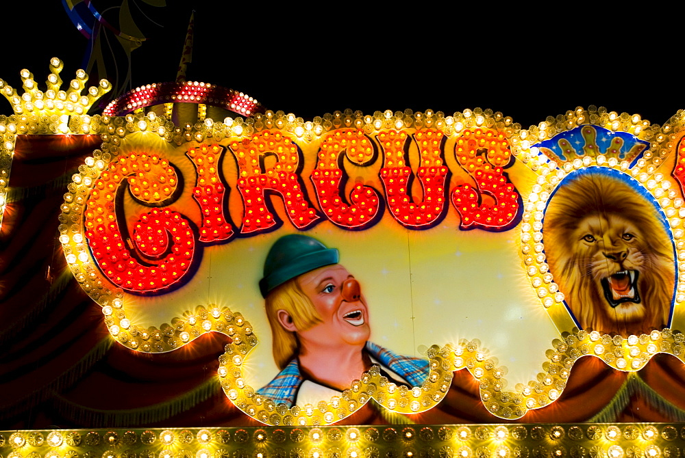 Circus, Octoberfest, Munich, Bavaria, Germany