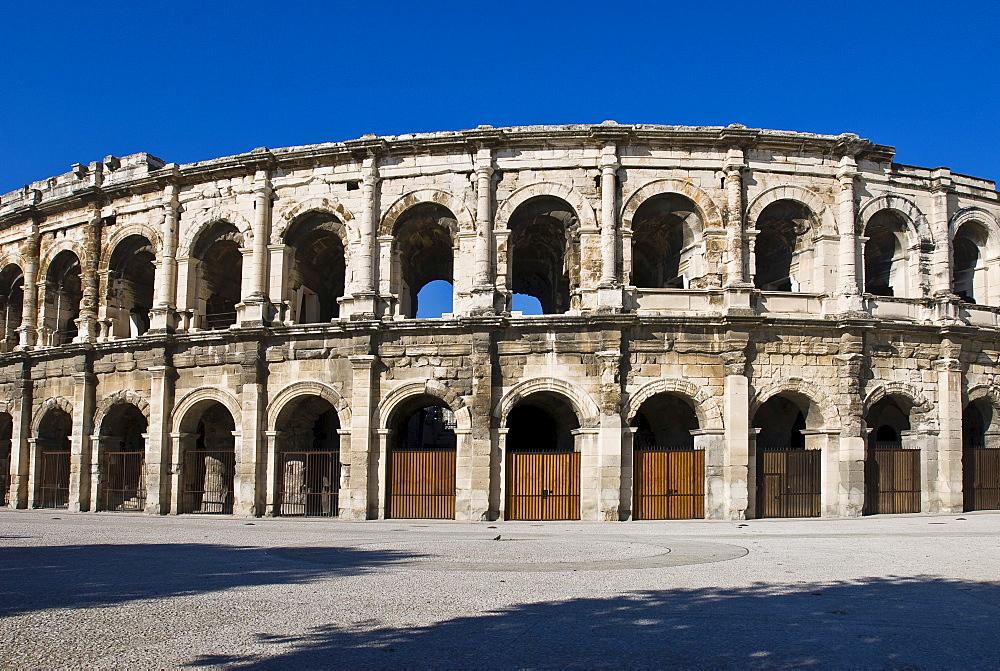 Arena, Arenes de Nimes, Nimes, Languedoc-Rousillion, France