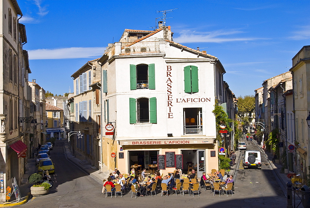Brasserie L Aficion, Arles, Provence-Alpes-Cote d'Azur, France