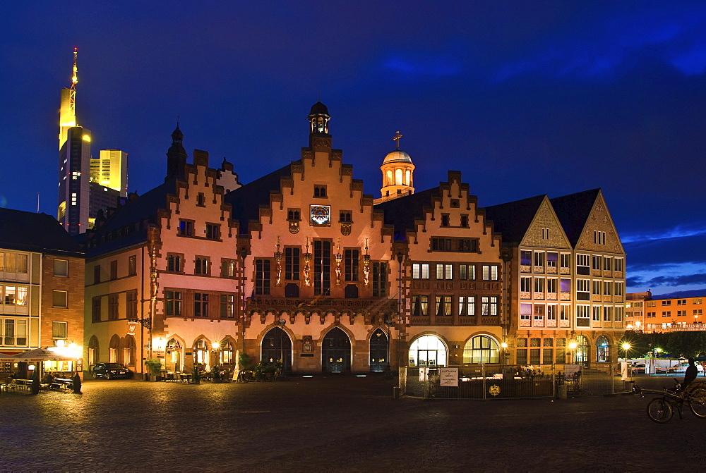 Roemer, Town hall, Frankfurt, Hesse, Germany
