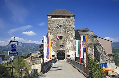 Castle Oberkapfenberg, Kapfenberg, Styria, Austria
