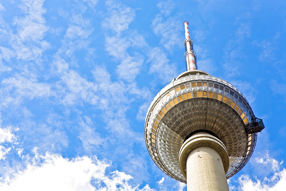 Television tower on the Alexander's place, Berlin, Germany