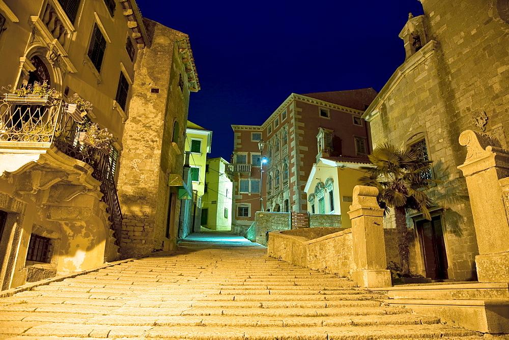Old Town of Labin, Istria, Croatia