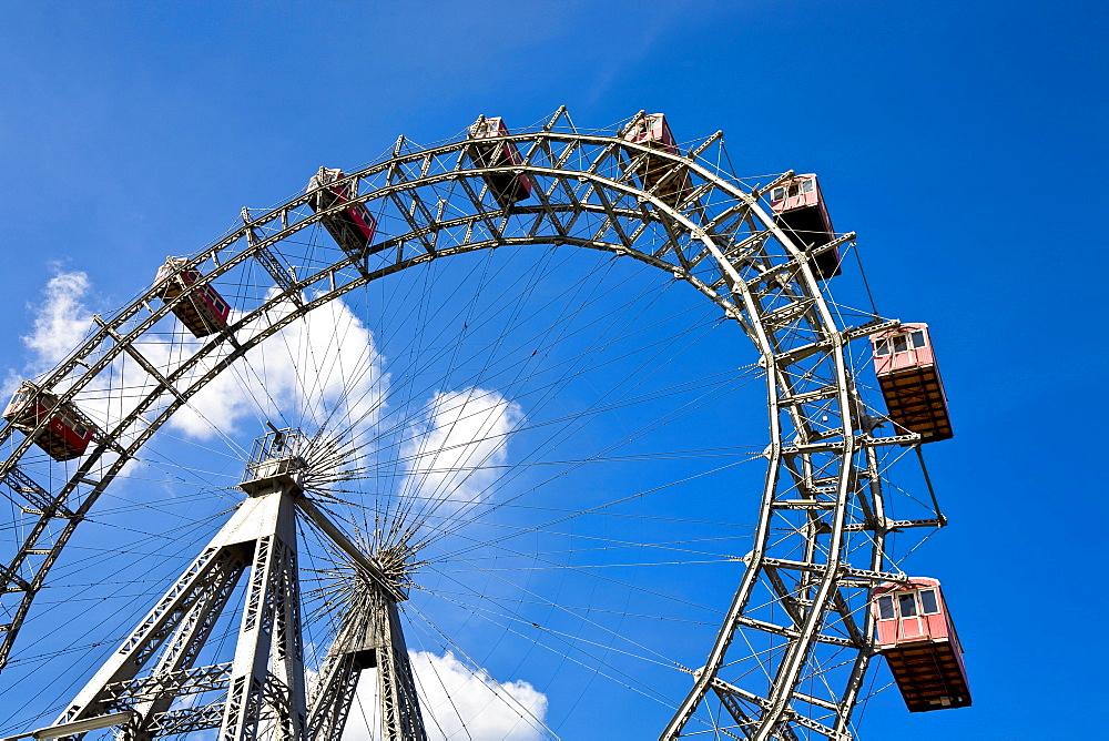 Ferris wheel in the Viennese Prater Vienna Austria