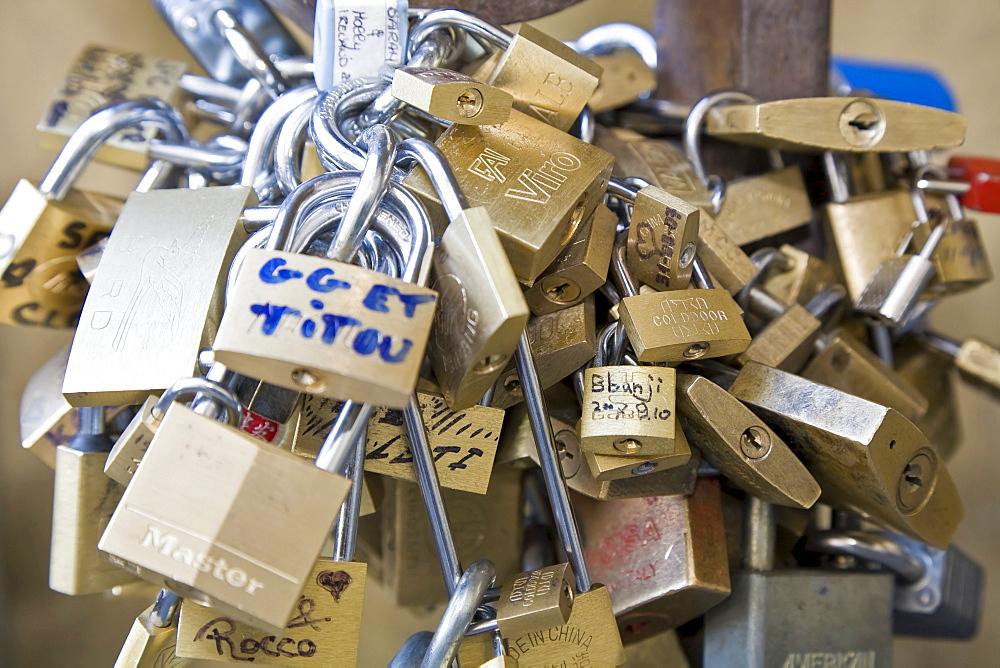 Numerous locks