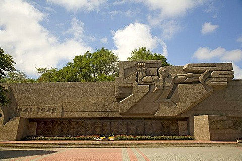 Nachimow Square, Memorial of 2. World War, Sevastopol, Crimea, Ukraine, South-Easteurope, Europe,
