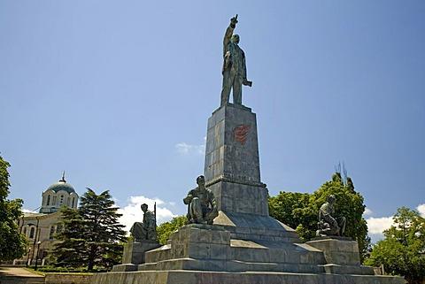 Lenin Memorial , Sevastopol, Crimea, Ukraine, South-Easteurope, Europe,