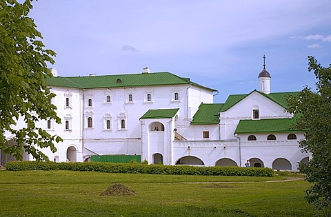 Apartments of the archbishop, Suzdal Kremlin, Suzdal, Russia