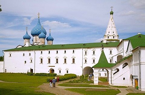 Suzdal Kremlin with Cathedral of the Nativity of the Virgin and apartments of the archbishop, Suzdal, Russia