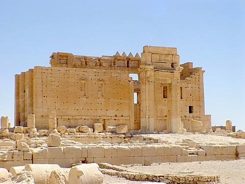 Ruins in palmyra