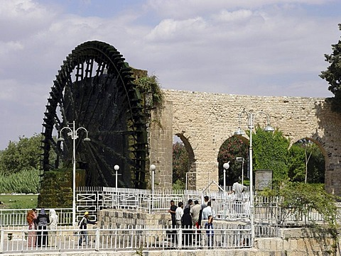 Water wheels in hama