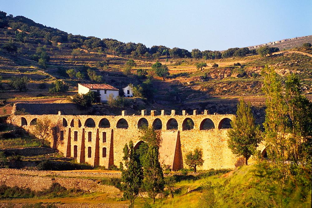 Acueducto de Santa Lucia - Morella, province of Castellon