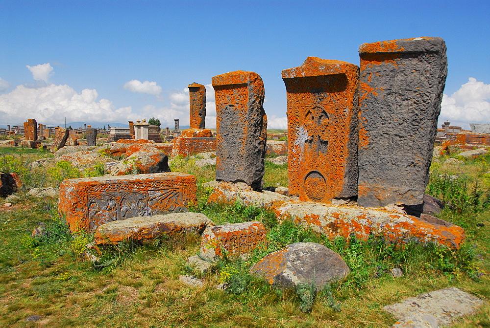Cross-slabs on Noraduz cementary, Noraduz, Armenia