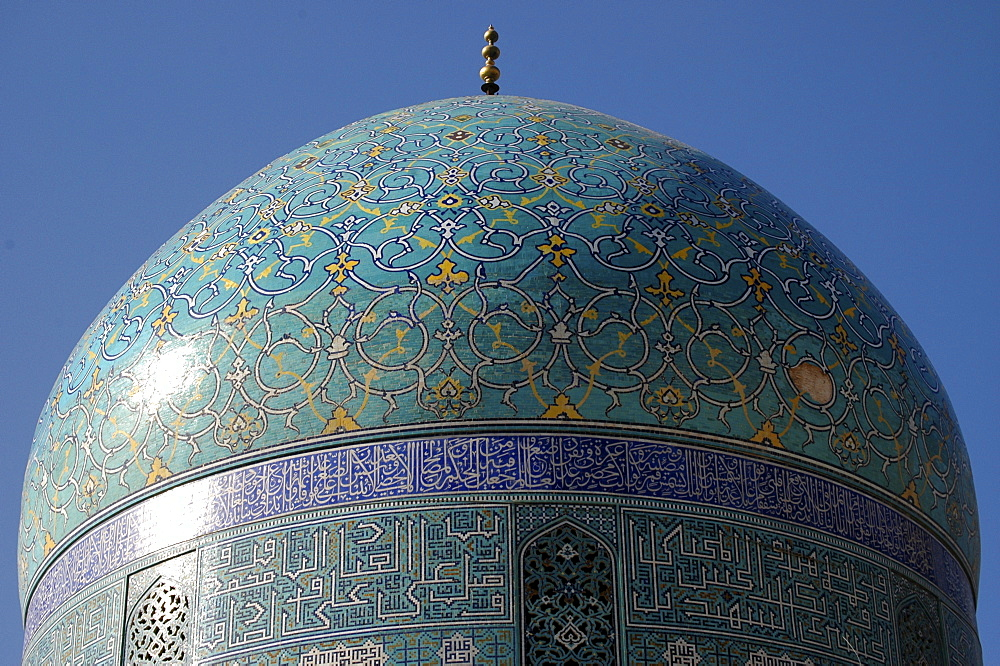 Dome of Meidan-e Imam Mosque, Isfahan, Iran